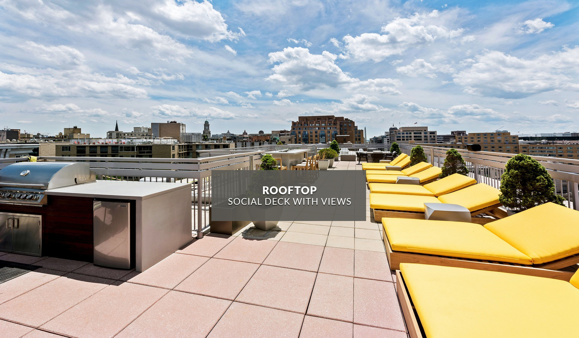 Latrobe Apartments - Rooftop - Washington, DC